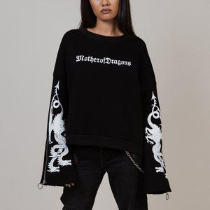 Game of Thrones Mother of Dragons Cropped Jumper